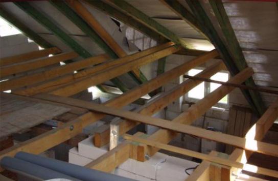 Как сделать деревянное перекрытие дома