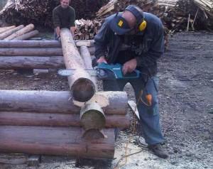 Строительство деревянного сарая монтаж сруба