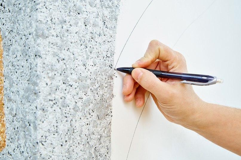 Как наносить рисунок на стену