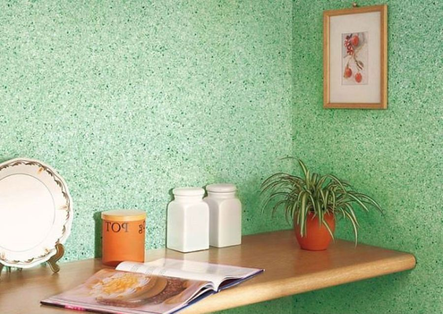 Плюсы и минусы жидких обоев для стен