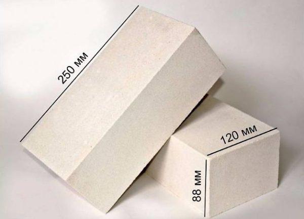 Размер силикатного кирпича