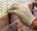 Отделка стен — имитация кирпича