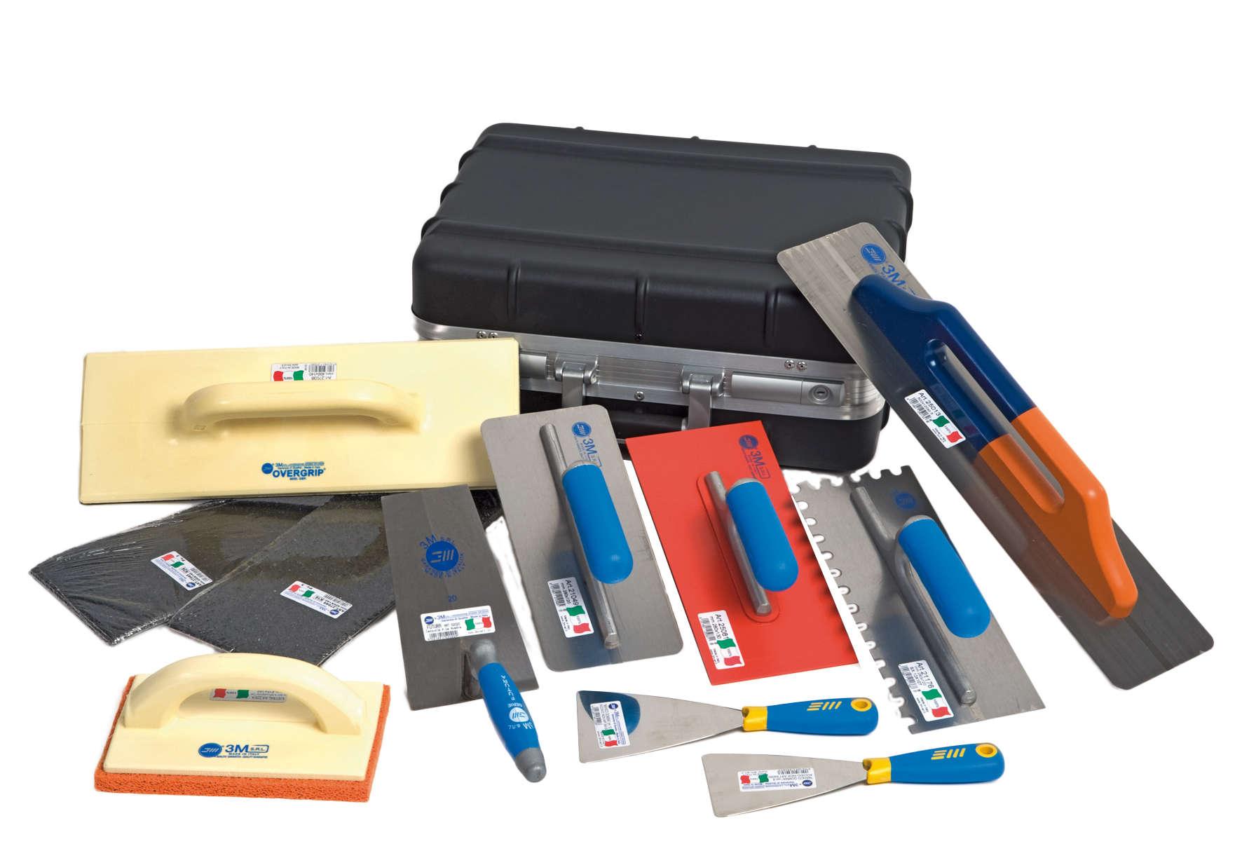 Необходимые инструменты для затирки